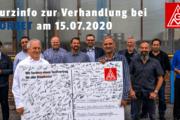 Erfolg der Solidarität: Erste bundesweite Tarifverhandlung bei Borbet