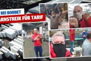 Warnstreiks bei der BORBET Solingen GmbH -  Metaller*innen beeindrucken mit enormer Beteiligung und Solidarität