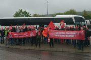 Tarifbewegung bei HES - Die Weichen stehen auf Streik!