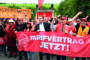 Streiknachrichten #2: Jetzt geht´s los - Streik bei Riva-H.E.S. Trier/ Horath steht!