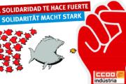 Solidarität auch aus Spanien - Europäischer Tag der Solidarität mit den Streikenden von Trier und Horath