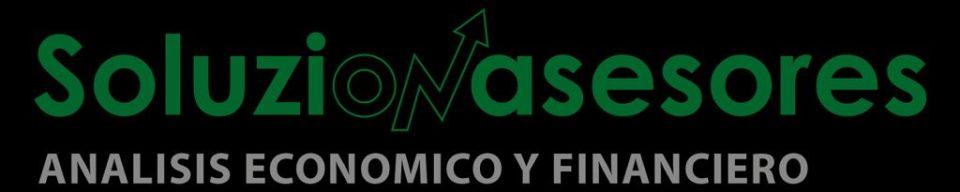 Logotipo Soluzionasesores sobre fondo negro