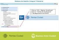 Instructivo Recategorización Régimen Simplificado IIBB CABA