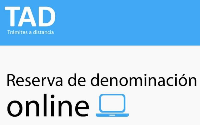 IGJ cómo hacer la Reserva de nombre online.