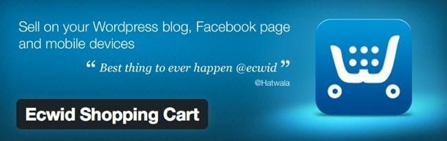 mejores plugins wordpress ecommerce ecwid shopping cart