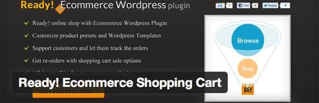 mejores plugins wordpress ecommerce ready ecommerce shopping cart