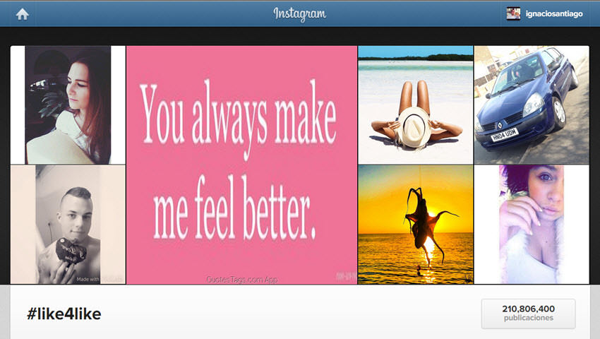 conseguir seguidores en instagram hashtag like4like