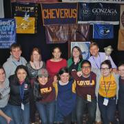Loyola Chicago group at Ignatian Family Teach-In for Justice