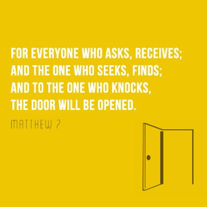 Lent Day 8 - Matthew 7