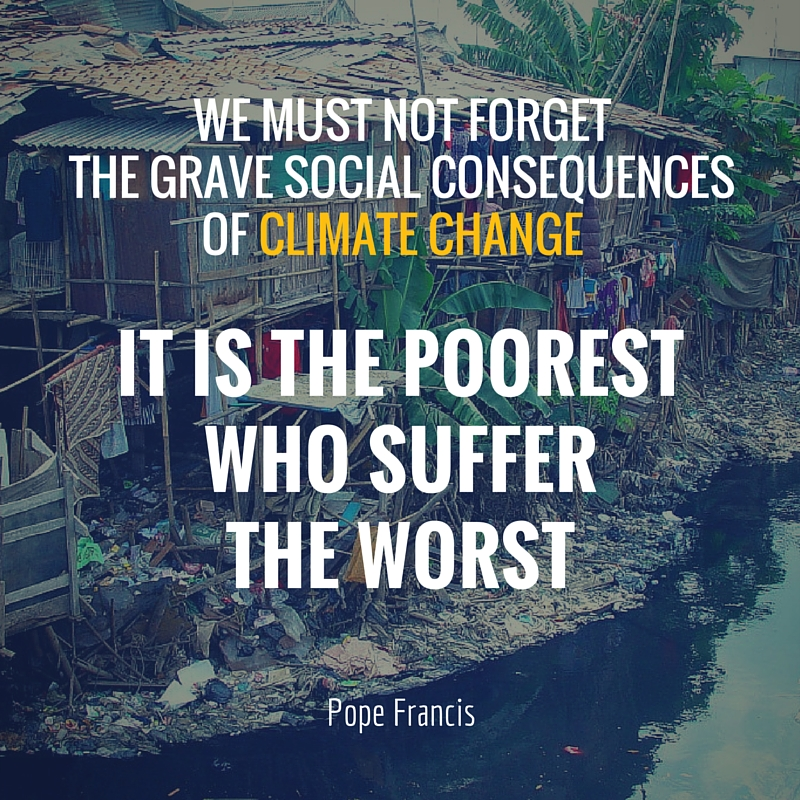 We must not forget the grave social consequences