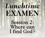 Lunchtime Examen Session 2 button