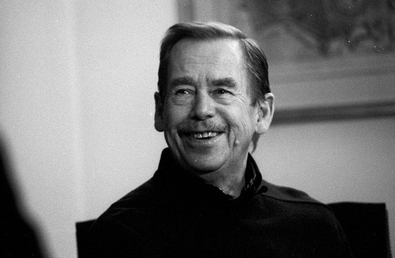 Vaclav Havel. Source: ireport.cz