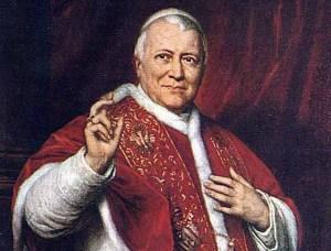 Pius IX: Source: ncr.com