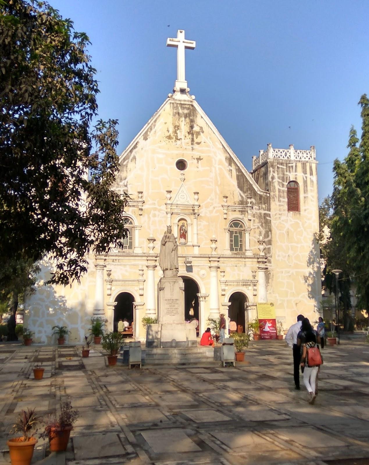 St. Andrew's Church, Mumbai. Source: mumbai daily.com