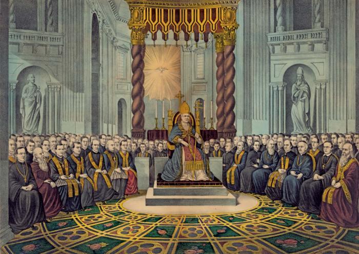 First Vatican Council. Source: britannica.com