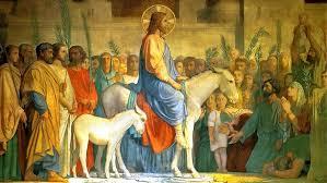 File:Christ-entering-Jerusalem-on-a-donkey 01.jpg - The Work of ...