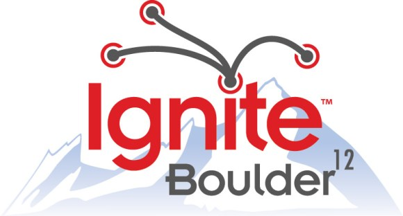 Ignite Boulder 12 is September 2nd