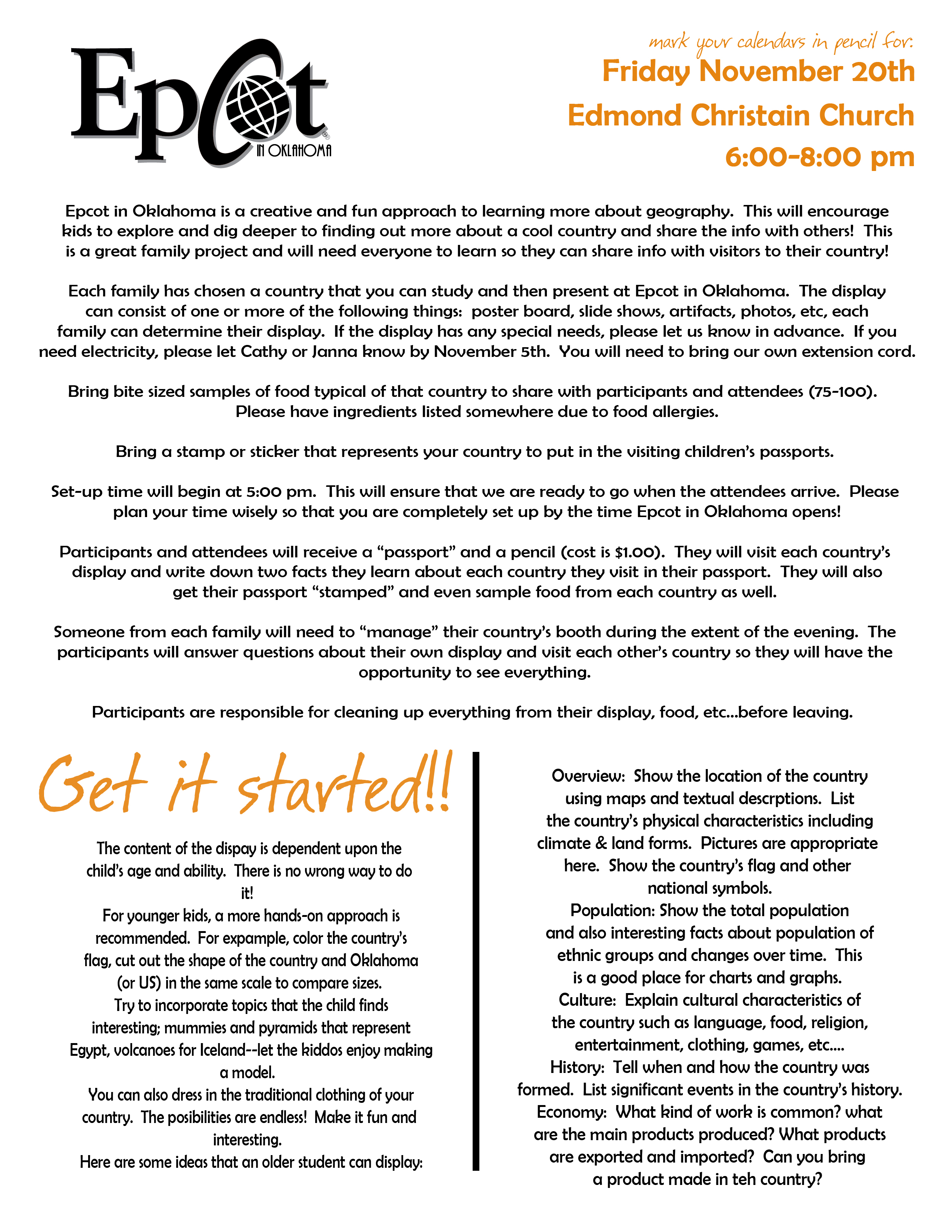 flyer for email and blog copy