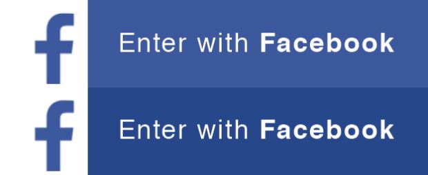 Enter with Facebook