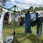 Grateful for the washing