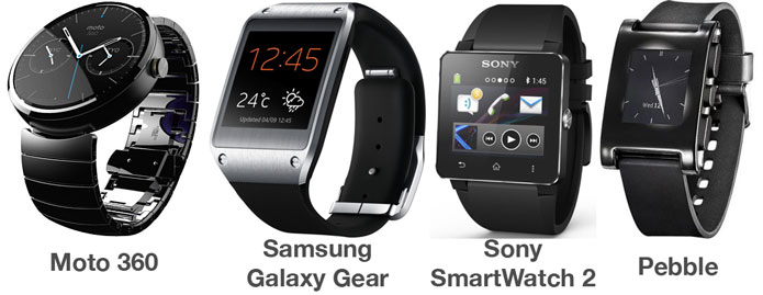 moto-360-versus-pebble-galaxy-gear-and-sony-smartwatch