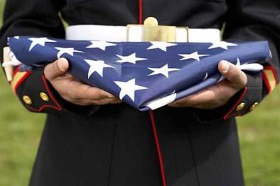 folded-marine-flag