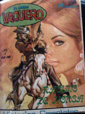 Primer número del libro vaquero