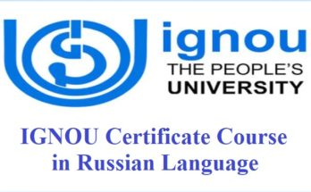 Ignou Certificate In The Arabic Language Course 2020 All