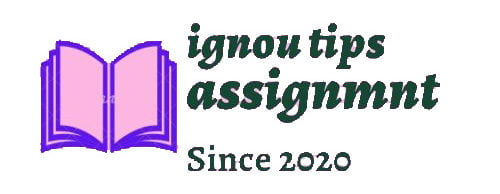 ignou tips assignment