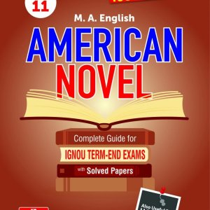 IGNOU MEG-11 American Novel IGNOU Help Book with Solved Previous Year's Question Papers and Important Exam Notes