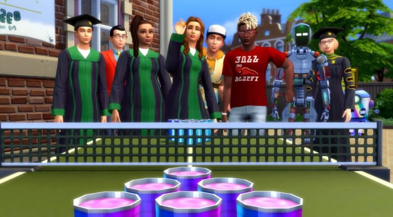 The Sims 4 Discover University v1.62.67.1020 Free Download
