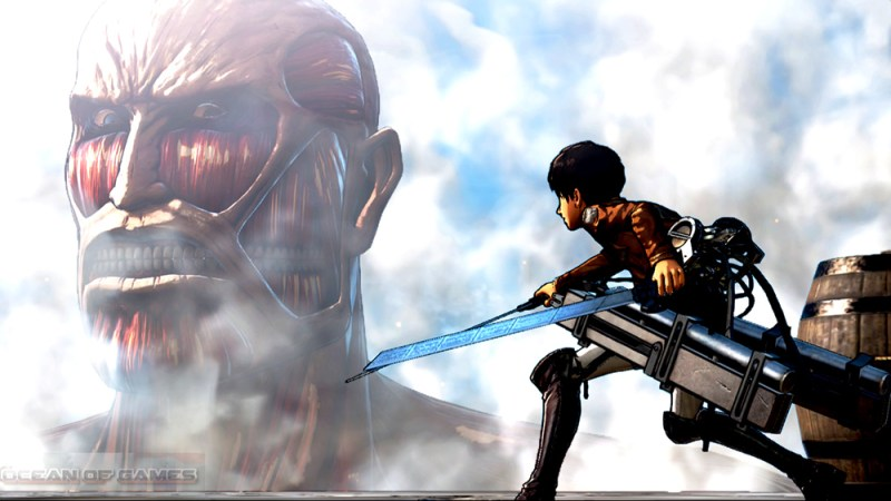 Attack on Titan Wings of Freedom Setup Free Download