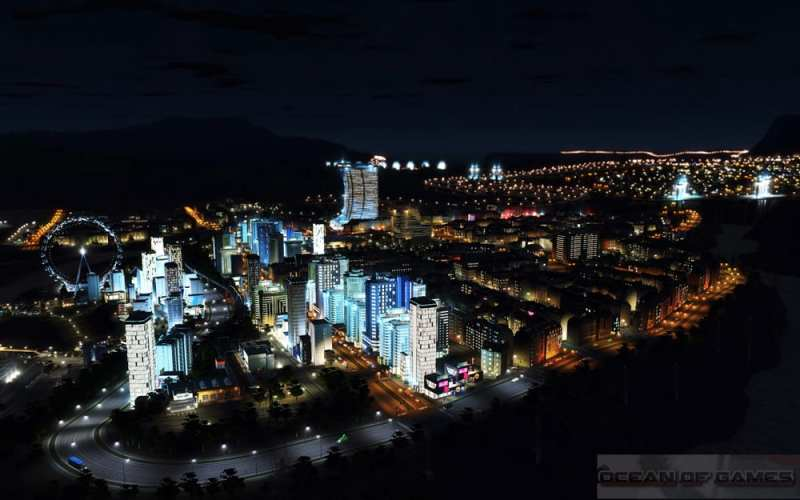 Cities Skylines After Dark Setup Free Download