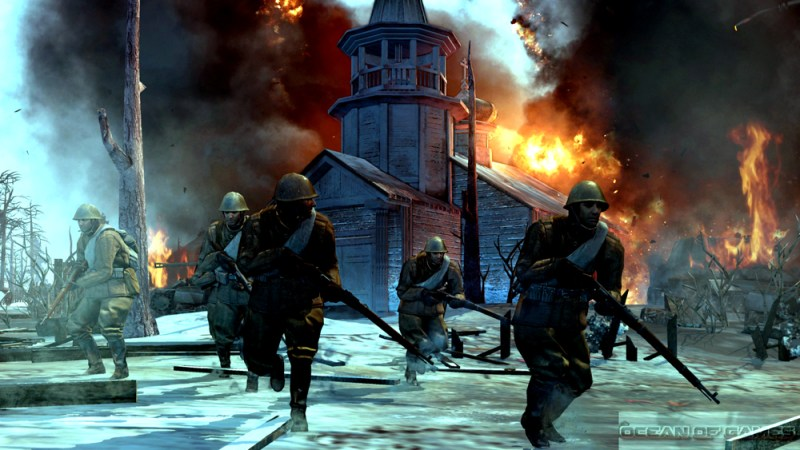 Company of Heroes 2 Master Collection Features