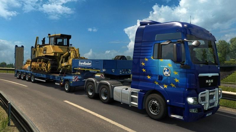 Euro Truck Simulator 2 Heavy Cargo Pack Setup Free Download
