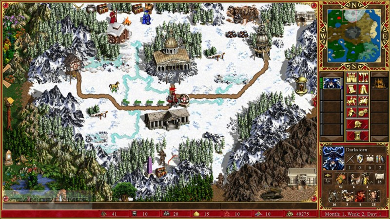 Heroes of Might and Magic III HD Edition Setup Download For Free