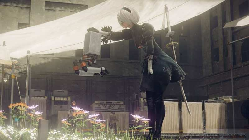NieR Automata Day One Edition Features