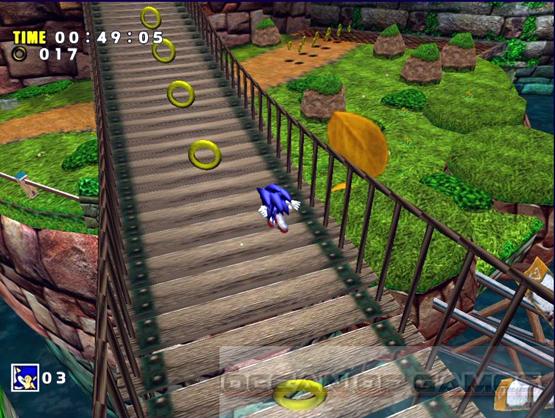 Sonic DX Directors Cut Features