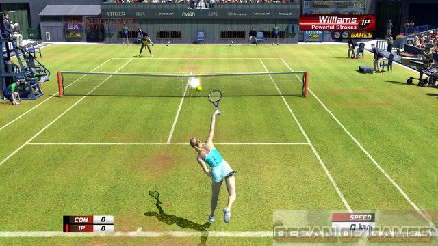 Virtua Tennis 3 Features