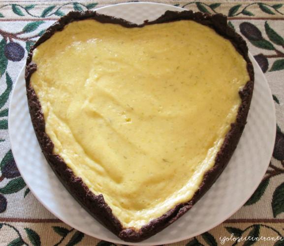 Buon San Valentino! Torta al cioccolato e lime
