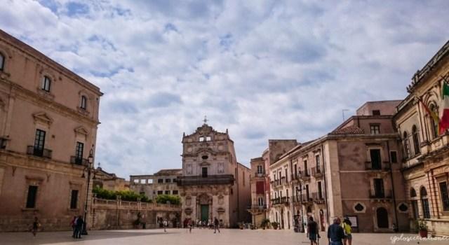 Piazza del Duomo di Ortigia, Siracusa