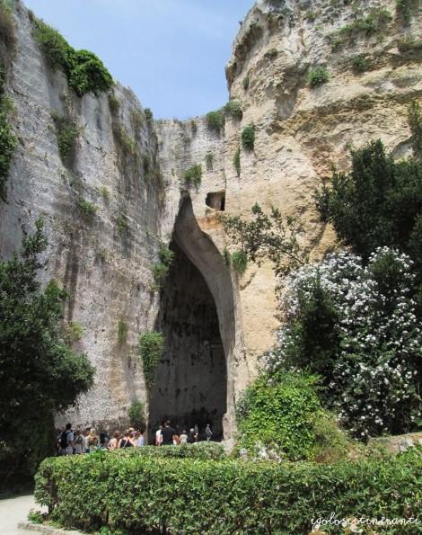 Parco Neapolis a Siracusa: l'Orecchio di Dionisio