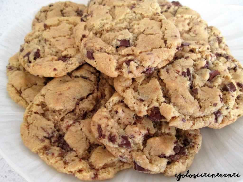 Nigella monella: cookies senza farina al burro di arachidi e gocce di cioccolato