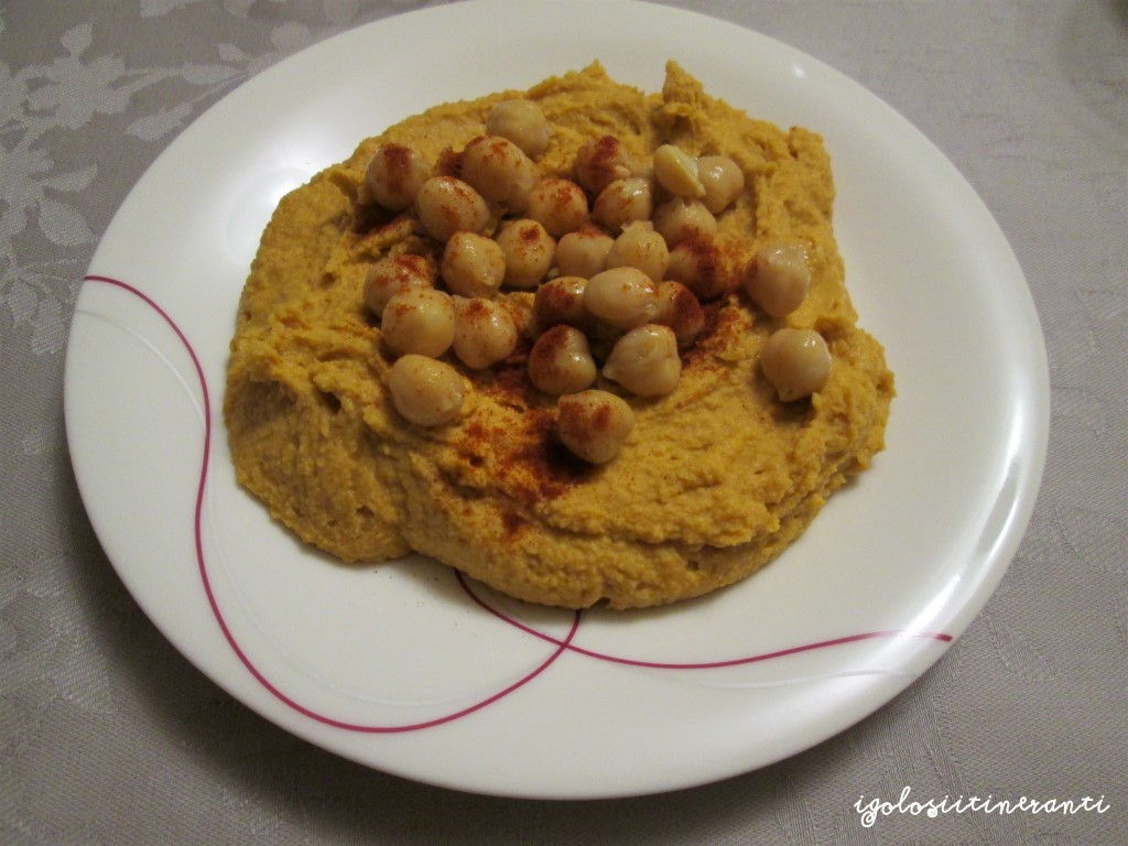 Hummus affumicato per chi ama i sapori forti!