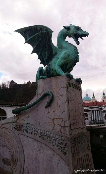 Drago del Ponte dei Draghi a Lubiana