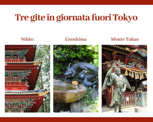 Tre idee per gite fuori Tokyo