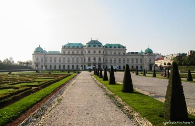 Facciata del Belvedere superiore, Vienna