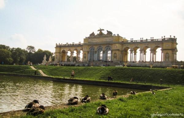 Facciata della Gloriette, parco di Schonbrunn (Vienna)