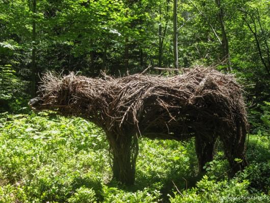 Arte Sella, the contemporary mountain. Opere d'arte all'aria aperta che si fondono con la natura