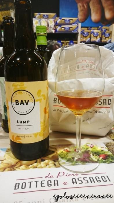 birra bitter ale Lump birrificio BAV Maerne
